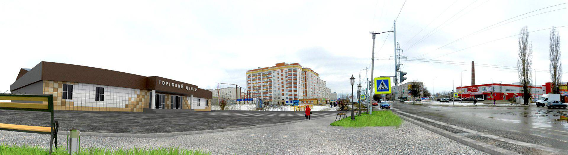 Визуализация здания бывшего молокозавода